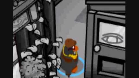 Club Penguin- Ruby and the Ruby play