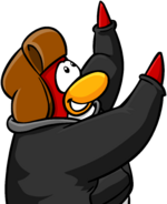 Create More login screen penguin