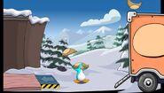 Atrapa bolsas Arcade de Club Penguin
