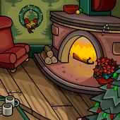 Cozy Fireplace Background clothing icon ID 9176