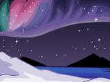 Fondo de la Aurora Boreal