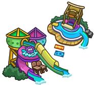 Icono de la Bahía durante la Fiesta de Puffles 2014