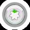 Pin de Puffito Blanco icono