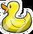 Rubber Ducky Pin icon