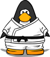 White Gi from a Player Card