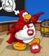 Adventurous Red Puffle card image