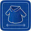 Blueprint Buttoned Up icon