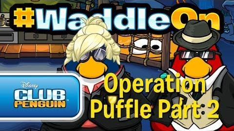 Club Penguin - WaddleOn Operation Puffle Part 2