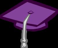 Gorro de Graduación Morado icono