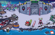 Holiday Party 2015 Dock