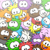 Pile of Puffles Background