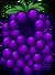 Disfraz de Uva icono
