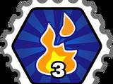 Fire Blast Combo stamp