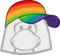 Gorra Multicolor icono