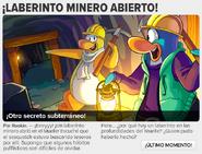 Laberinto Minero Anuncio en Diario 1