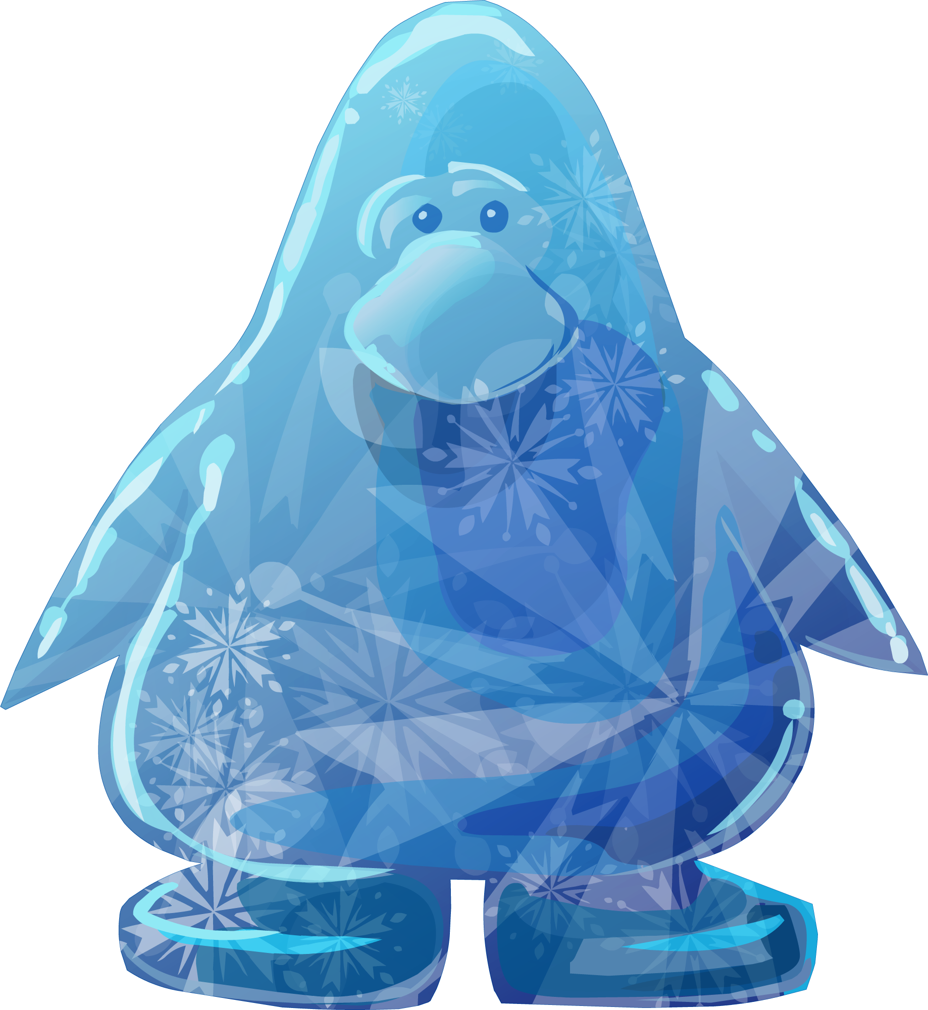 Resultado de imagem para pinguim de gelo club penguin