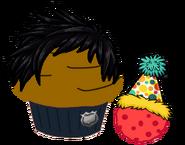 Cupcake Julirozo Puffle galleta