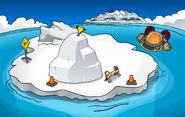 Festival of Snow 2015 construction Iceberg