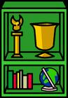 Green Bookcase sprite 004