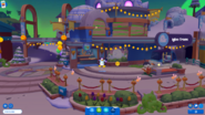 Halloween 2018 Island Central igloos interiors