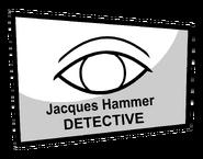 Jackques Hammer business card