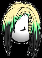 Melena Punk icono