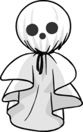 Terrifying Tissue Ghost