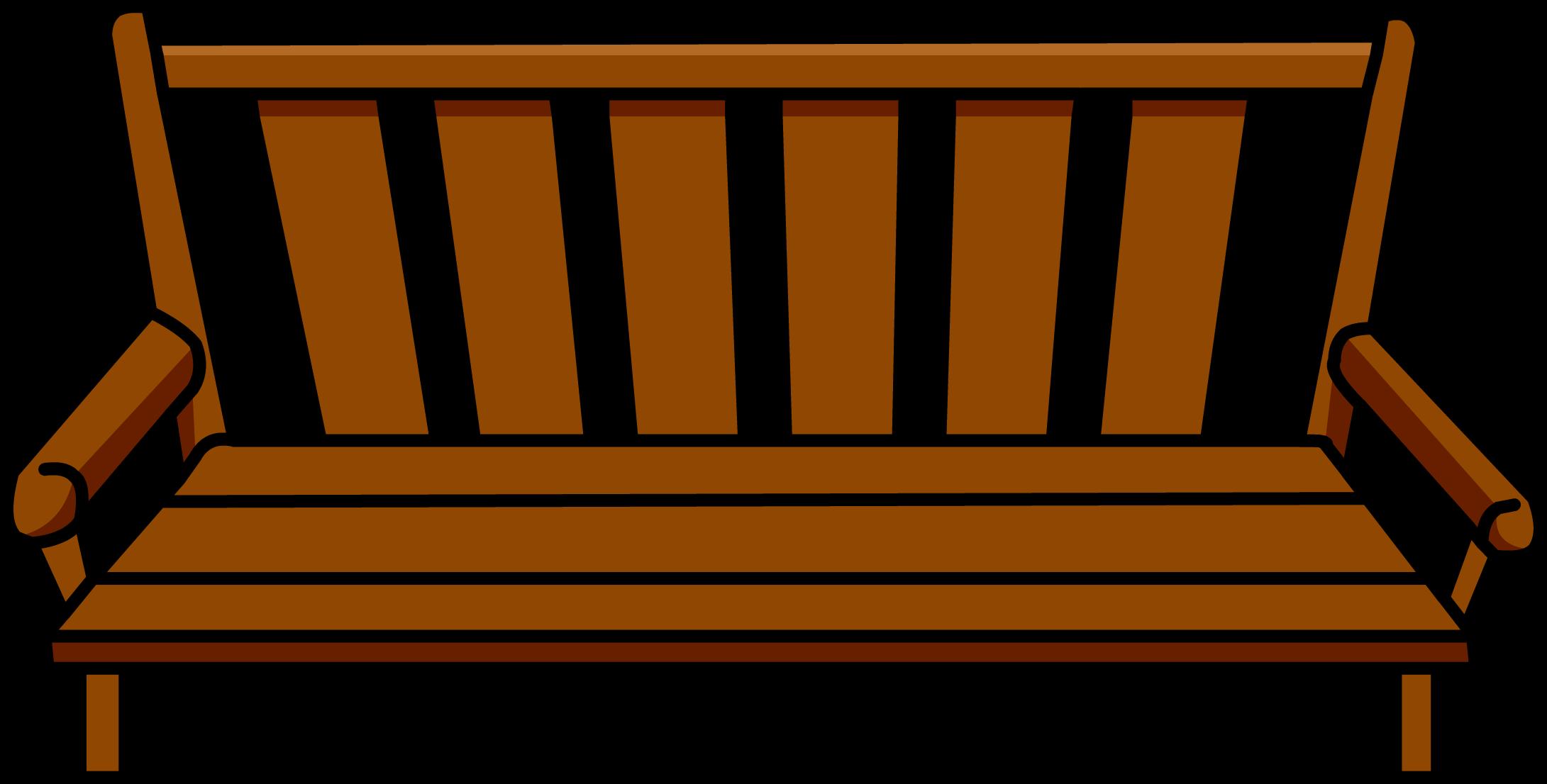 Wood Bench Club Penguin Wiki Fandom Powered By Wikia