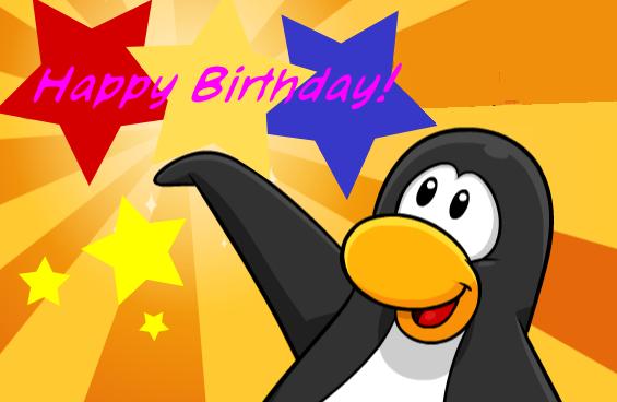 Image Birthdaycardg Club Penguin Wiki Fandom Powered By Wikia