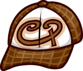 Brown Skater Cap icon