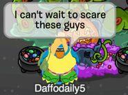 Daffodaily5: No puedo esperar para asustar a estos chicos...