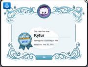 Kyfur wiki weldome