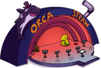 Orca Straw Music Jam 2016 cutout