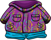 Purple Whirl Snowsuit icon