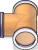 T-joint Puffle Tube sprite 039