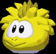 Yellow stegasaurus 3d icon