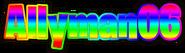 Allyman06 font
