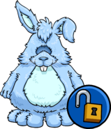 Blueberry Bunny Costume clothing icon ID 14523