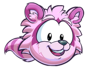 Puffle Mapache Rosa