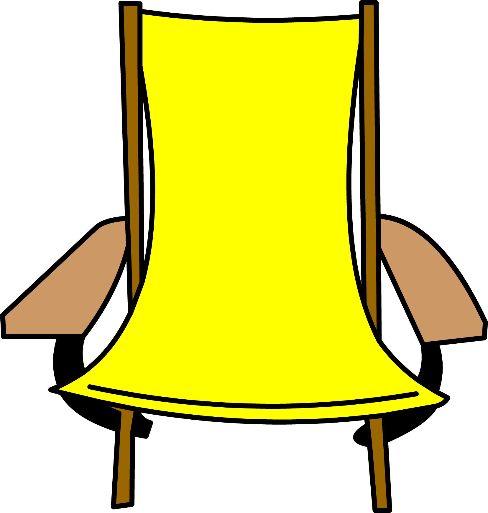 folding chair club penguin wiki fandom powered by wikia