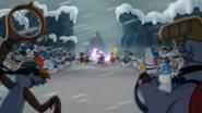 Ninja vs Snowmen Final Battle