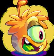 Puffle alien naranja