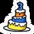612px-3rd Anniversary Cake Pin