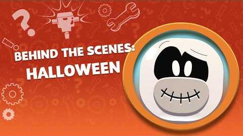 Behind the Scenes Halloween Disney Club Penguin Island