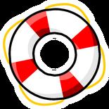 Life Ring Pin