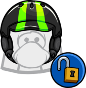 Neon Green Helmet clothing icon ID 11550