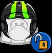 Neon Green Helmet clothing icon ID 11550