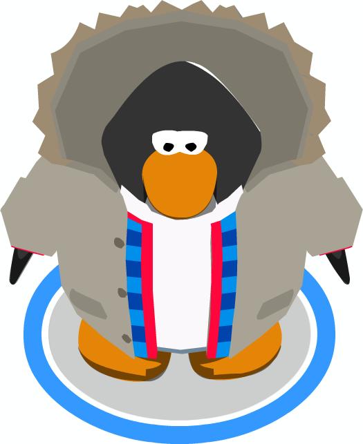 Outdoorsy Jacket ingame