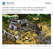 Prehistoricpartytweet