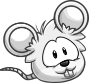 Puffle Ratón Blanco